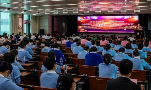 护士节庆祝大会召开,十堰市太和医院395名护理人员获表彰